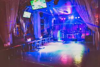 Skyfall karaoke bar in Almaty