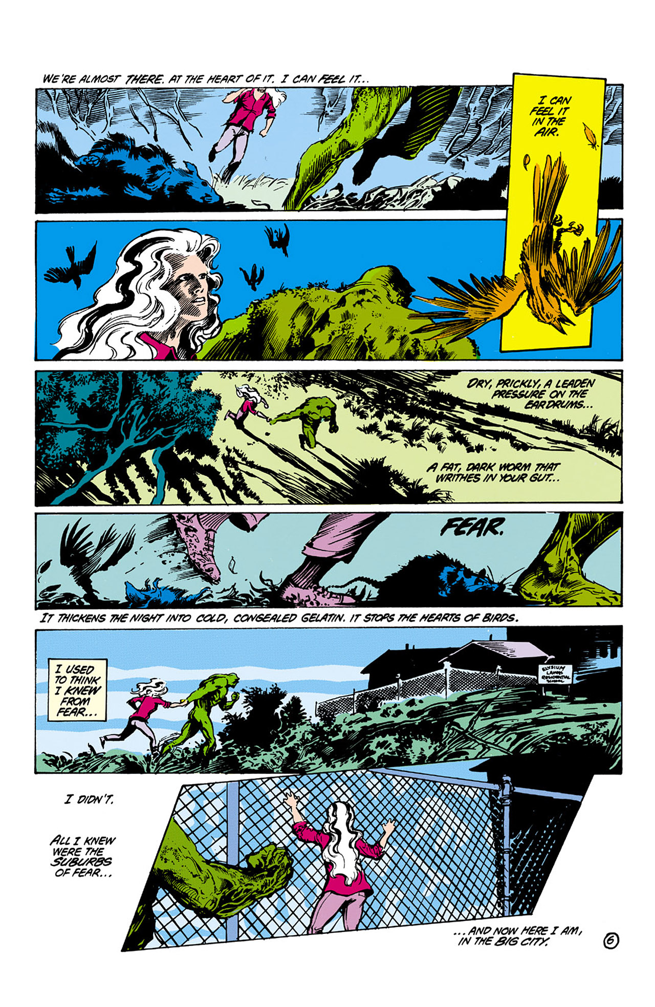 Swamp Thing (1982) Issue #26 #34 - English 6