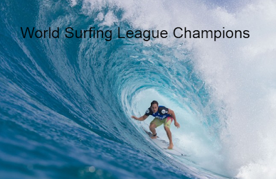 world surfing league, WSL Surfing World title Champions-Winners, championship tour,  List.