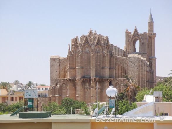 Gazimağusa'nın ( Magosa) simgelerinden tarihi St Nicholas Katedrali ( Lala Mustafa Paşa Cami), Kuzey Kıbrıs
