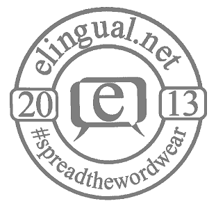 via www.elingual.net and www.spreadthewordwear.com