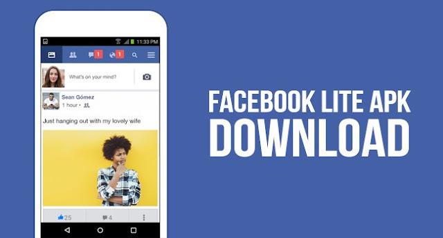 تحميل تطبيق Facebook Lite للاندرويد مجانا
