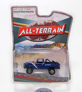 "GreenLight All-Terrain ""Ford Racing"" 1970 Ford F-100"