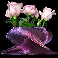 Esperança na flor que desabrocha