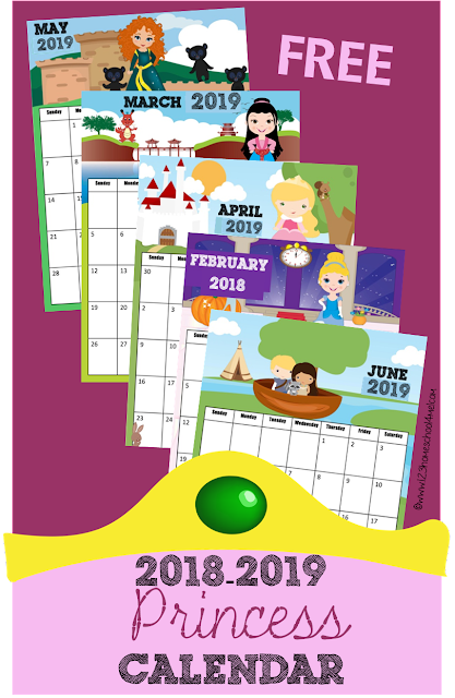 2018-2019-printable-calendar-princess