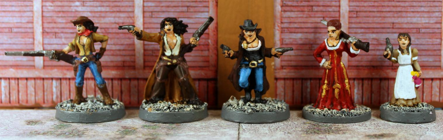 Vampifan's World of the Undead: Reaper Old West Figures 01