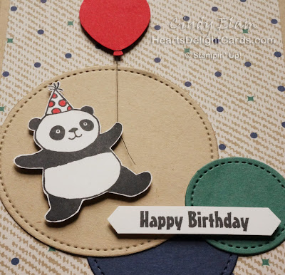Party Pandas, Sale-A-Bration, Stampin' Up!, Birthday