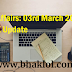 Current Affairs: 03rd March 2019 - Daily GK Update