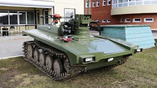 Robot Militer