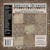 Artistic Outpost Vagabond Treasures Paper Collection
