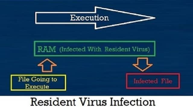 रेसिडेंट वायरस (Resident Virus)