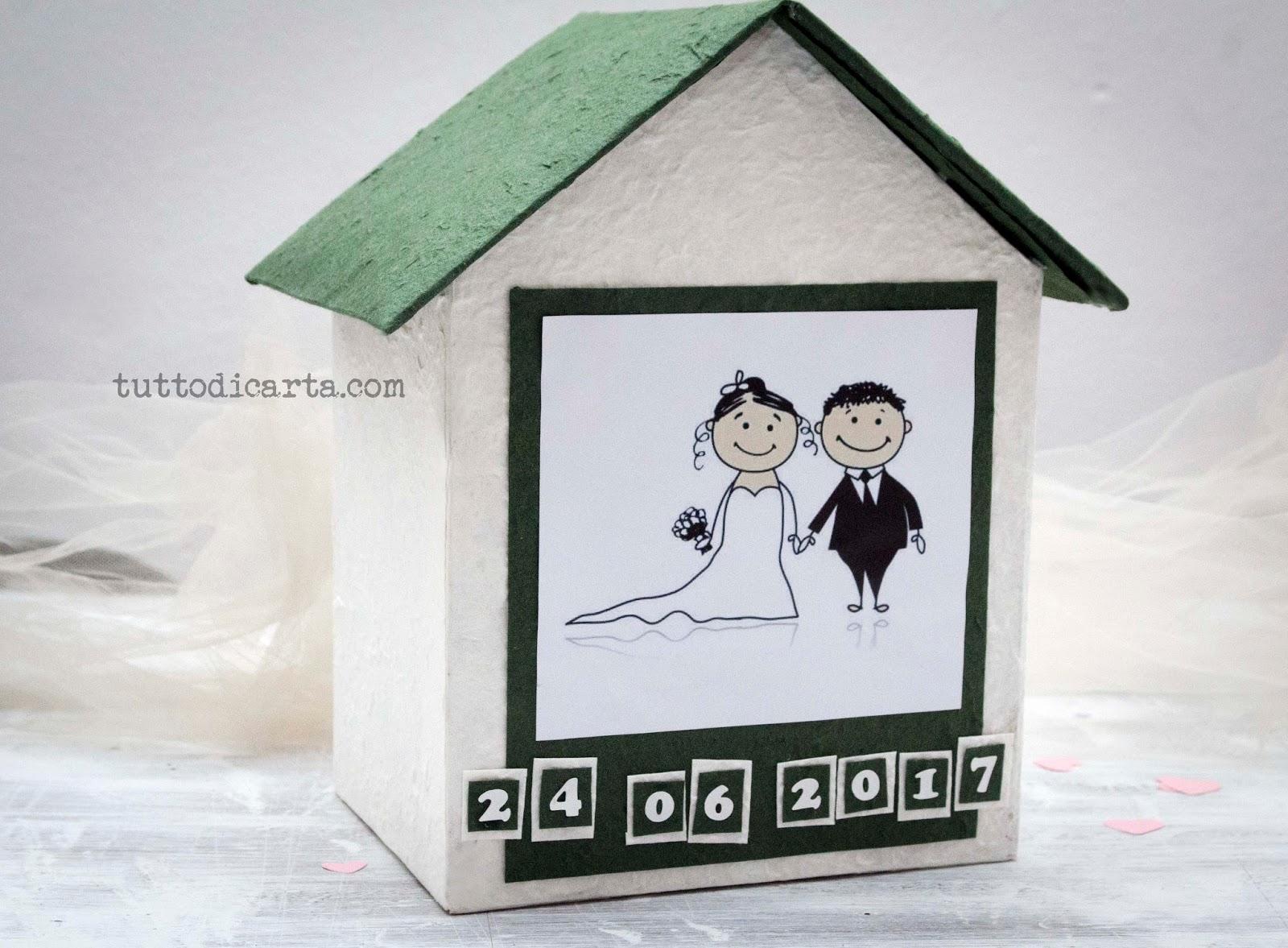 Buste Matrimonio Toscana : Vendita album fotografici casetta porta buste per matrimonio