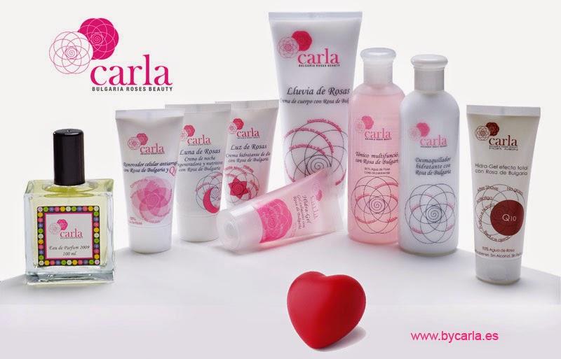cosméticos carla de bulgaria roses beauty