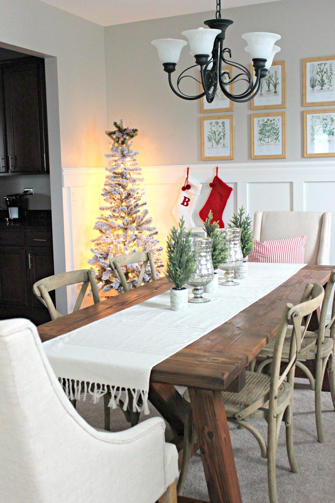 Christmas dining room ideas