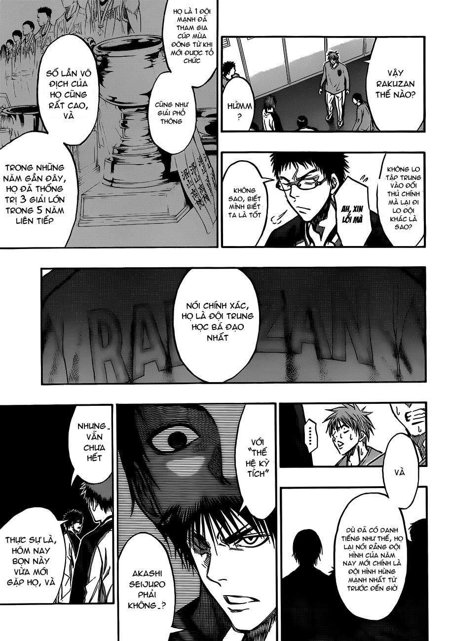 Kuroko No Basket chap 174 trang 17