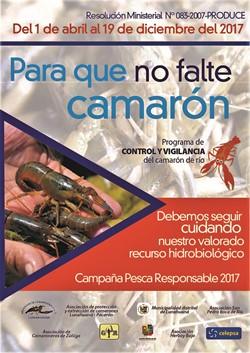 Campaña Pesca Responsable 2017 - CELEPSA