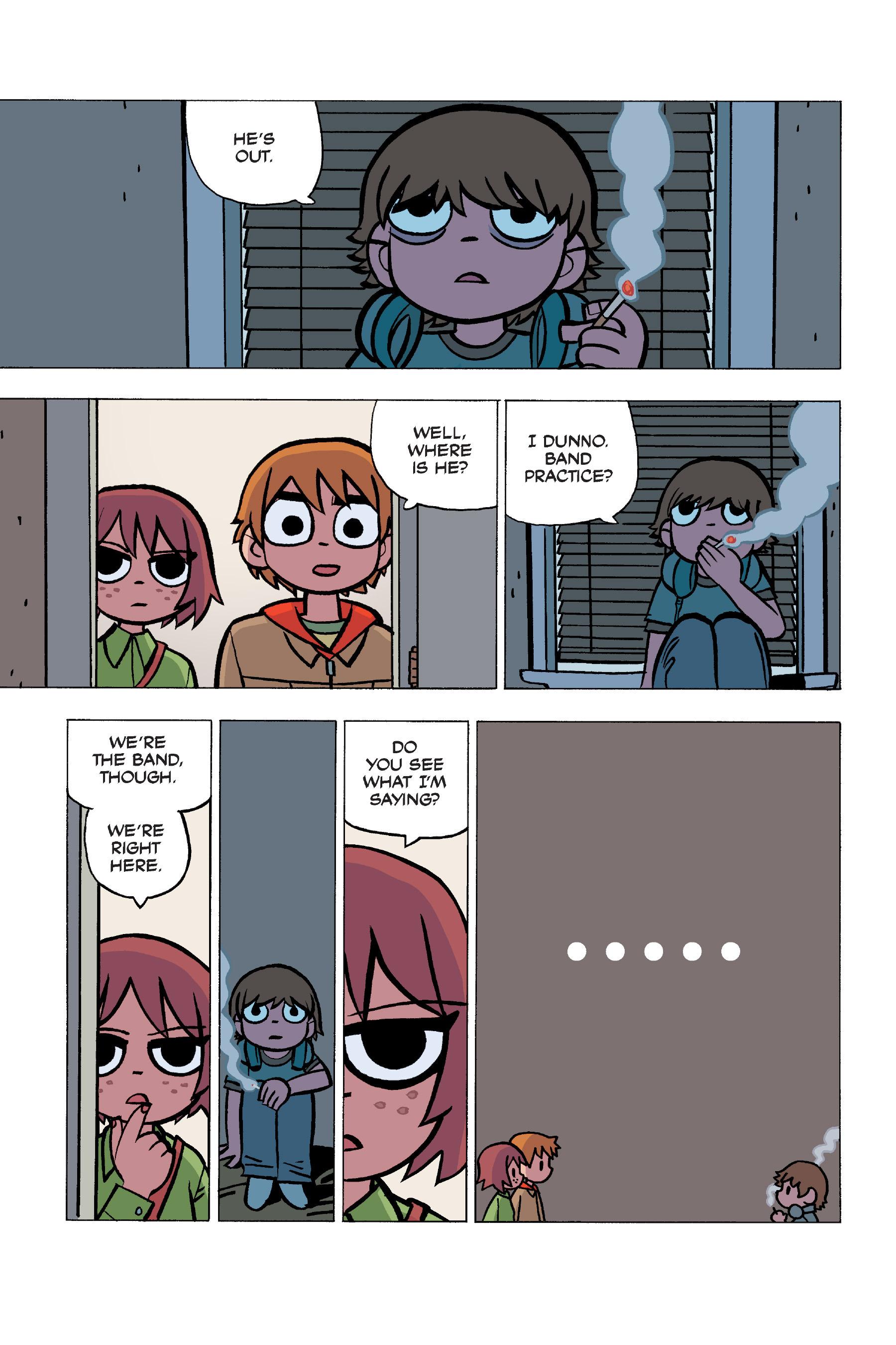 Read online Scott Pilgrim comic -  Issue #5 - 68