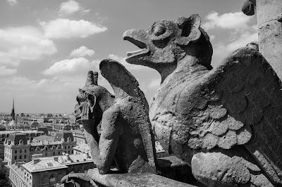 Gargoyles, Notre Dame de Paris