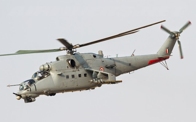 IAF Exercise Vayushakti 2019 To See Mi-35 Assault Anti-Armour Helicopter Unleash Its Firepower