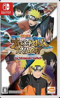 Naruto Shippuden: Ultimate Ninja Storm 1-2-3 Trilogy Switch XCI NSP