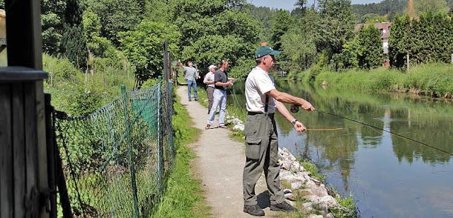 Fliegenfischerkurse in Velden an der Pegnitz