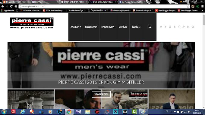 Erkek Giyim: Pierre Cassi!