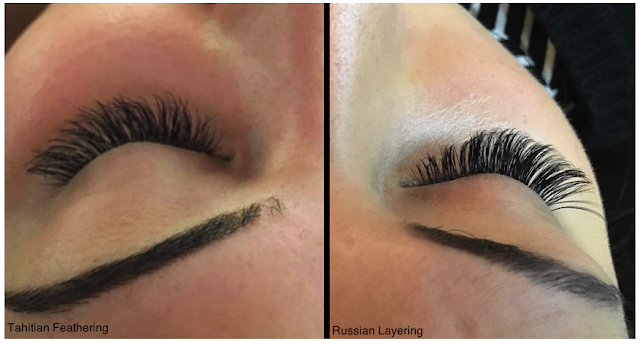 Lash Perfect Tahitian vs Russian Lashes