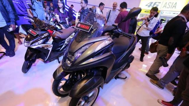 Wow !!! Ini Dia Produk Terbaru Yamaha Tricity 155 Cc Sensasi Baru Berkendara