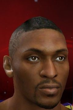 NBA 2K13 Metta World Peace Cyber Face (New Hair) Patch