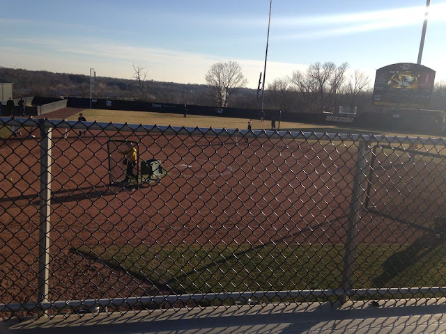 Mizzou Softball Practice