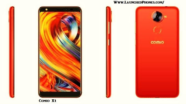 launched inwards Republic of Republic of India equally the latest Comio budget smartphone Comio X1 2018 launched amongst infinity display