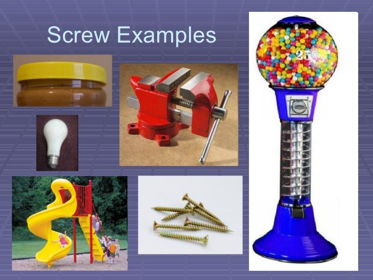 Simple Machine Screw Examples 55250 Timehd