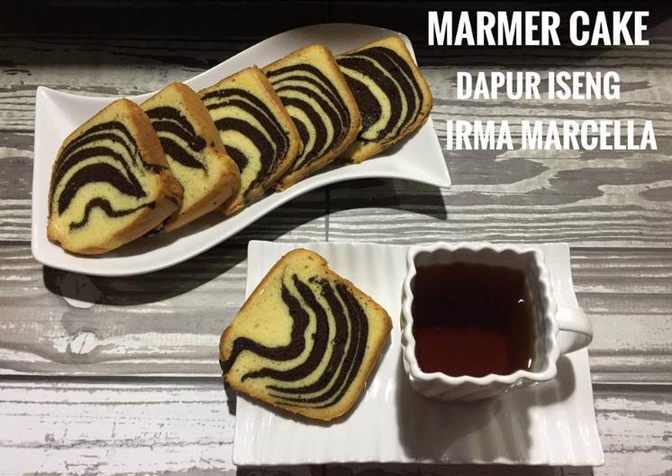 Resep Marmer Cake Irma Marcella Resepxyz