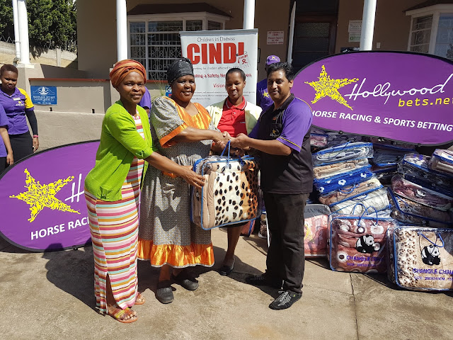 Children in Distress Network (CINDI) - Hollywoodbets Donation - Pietermaritzburg