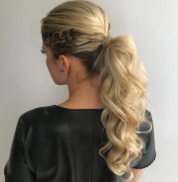 ponytail rabo de cavalo