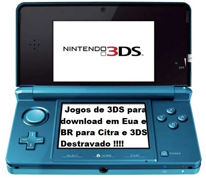 Emerson Lino Games: Roms de 3DS BR ,USA e ESP Download  3DS