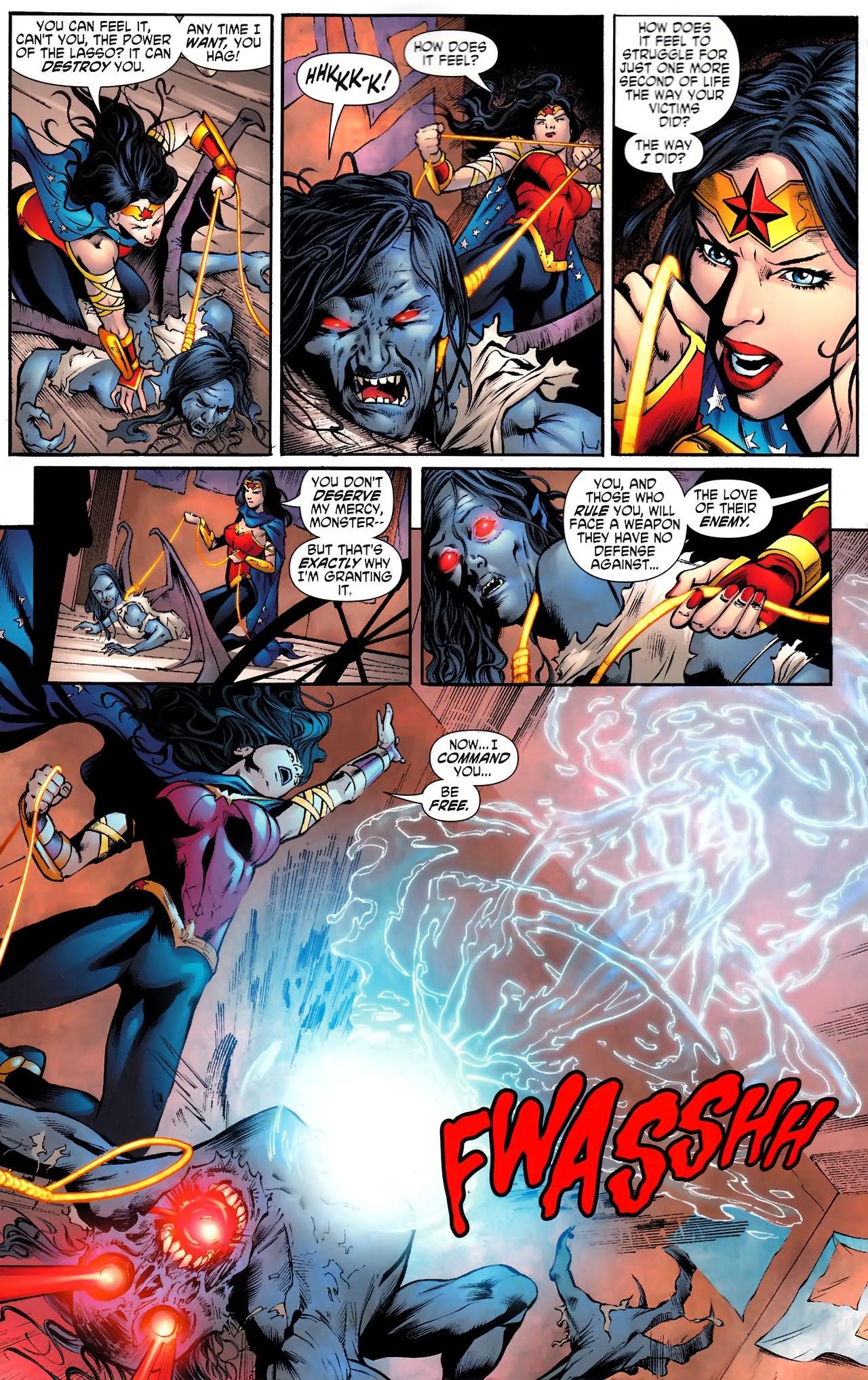 Read online Wonder Woman (2006) comic -  Issue #610 - 13