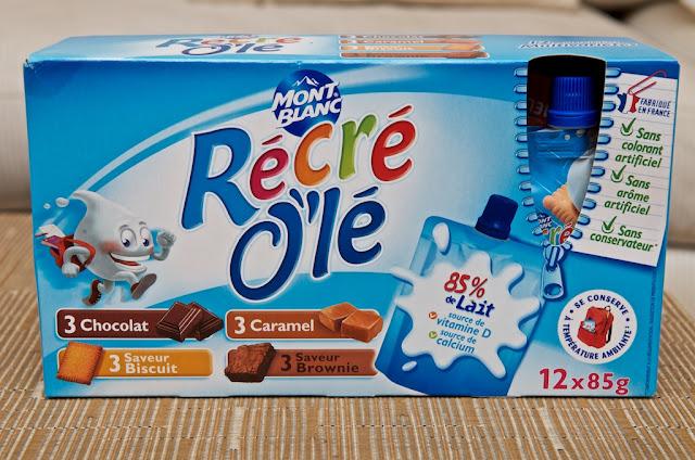 Récré O'lé Multi-Variétés - Mont Blanc - Crème dessert - Caramel - Biscuit - Brownie - Chocolat