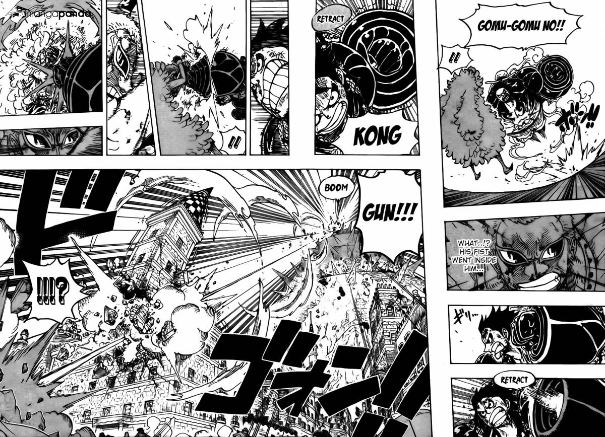 One Piece Ch 784: Gear Fourth