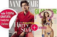 Logo Vanity Fair ti regala Glamour del mese di giugno