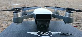 Setting kamera drone dji spark