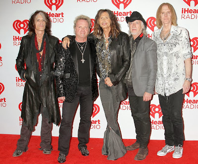Aerosmith 2013 Joe Perry Joey Kramer Steven Tyler Brad Whitford Tom Hamilton
