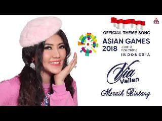 VIA VALLEN MERAIH BINTANG - LAGU ASIAN GAMES 2018