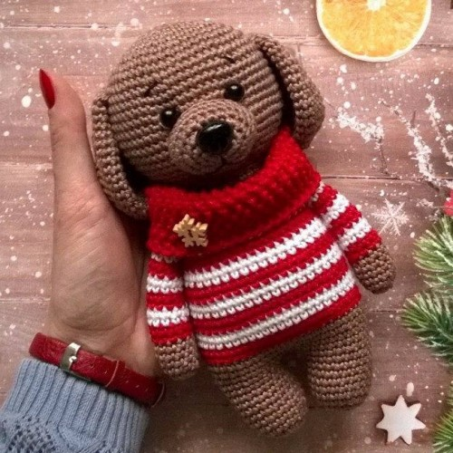 Amigurumi Sweet Dog - Free Pattern
