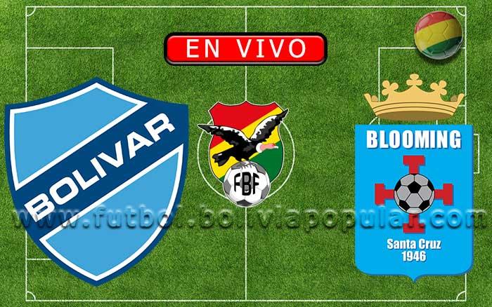 【En Vivo】Bolívar vs. Blooming - Torneo Clausura 2019