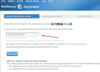 cara daftar webmoney akun 2