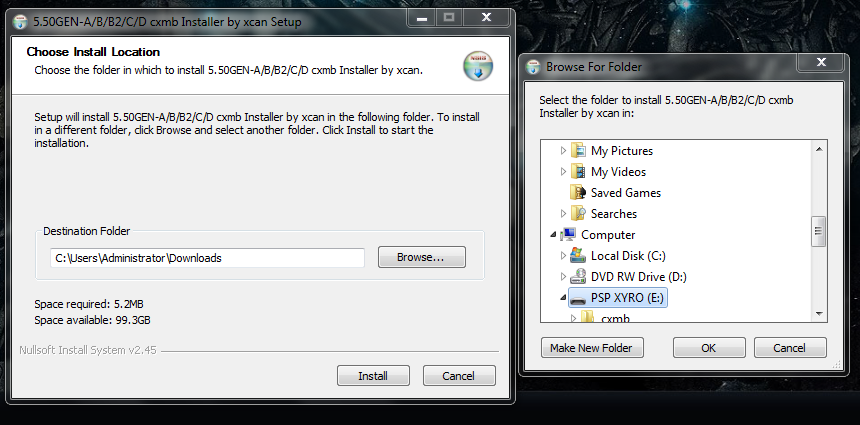 cxmb installer for 5.50 prome-4