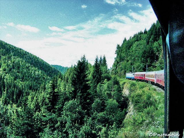 Cãlãtoria cu trenul îţi oferã priveliști greu de vãzut altfel - blog FOTO-IDEEA