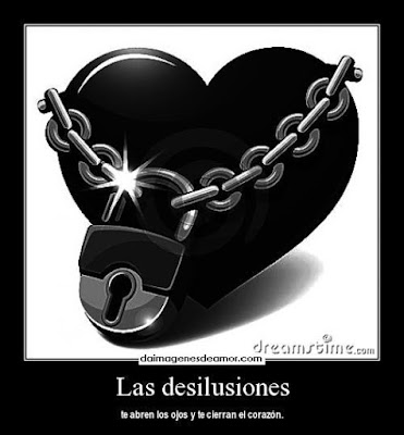 Dedicatorias de desilusión de amor, tristezas amorosas
