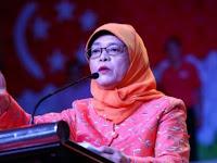 Ditanya Kenapa Pilih Tinggal di Rusun, Ini Jawaban Presiden Singapura Halimah Yacob